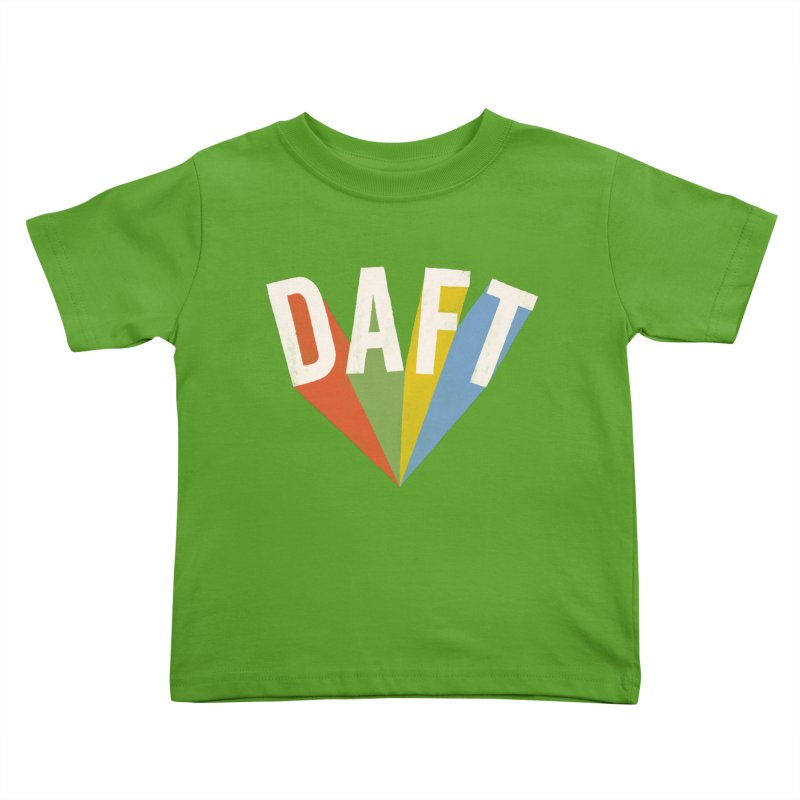 Daft Kids Toddler T-Shirt by Speakerine / Florent Bodart