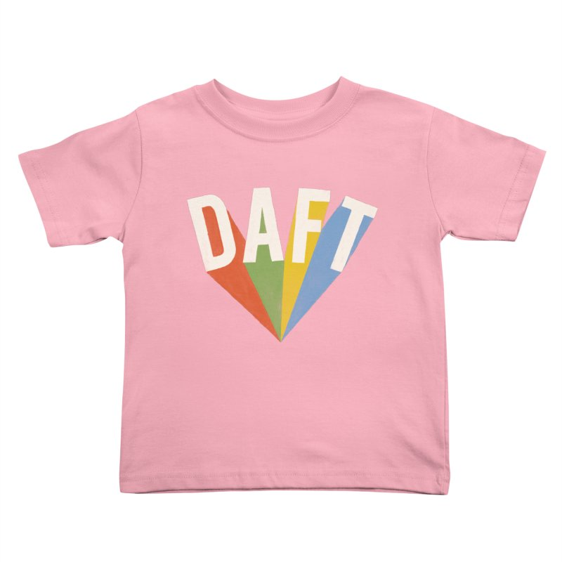 Daft Kids Toddler T-Shirt by Speakerine / Florent Bodart