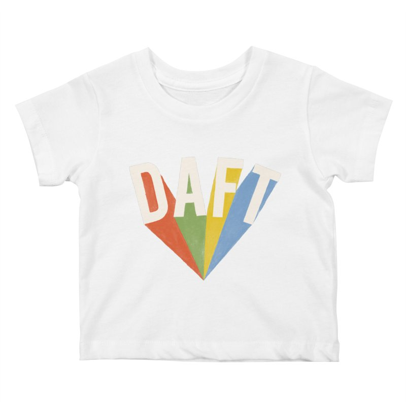 Daft Kids Baby T-Shirt by Speakerine / Florent Bodart