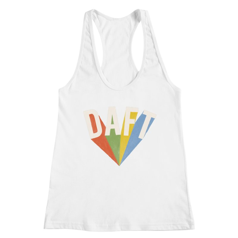 Daft Women's Racerback Tank by Speakerine / Florent Bodart