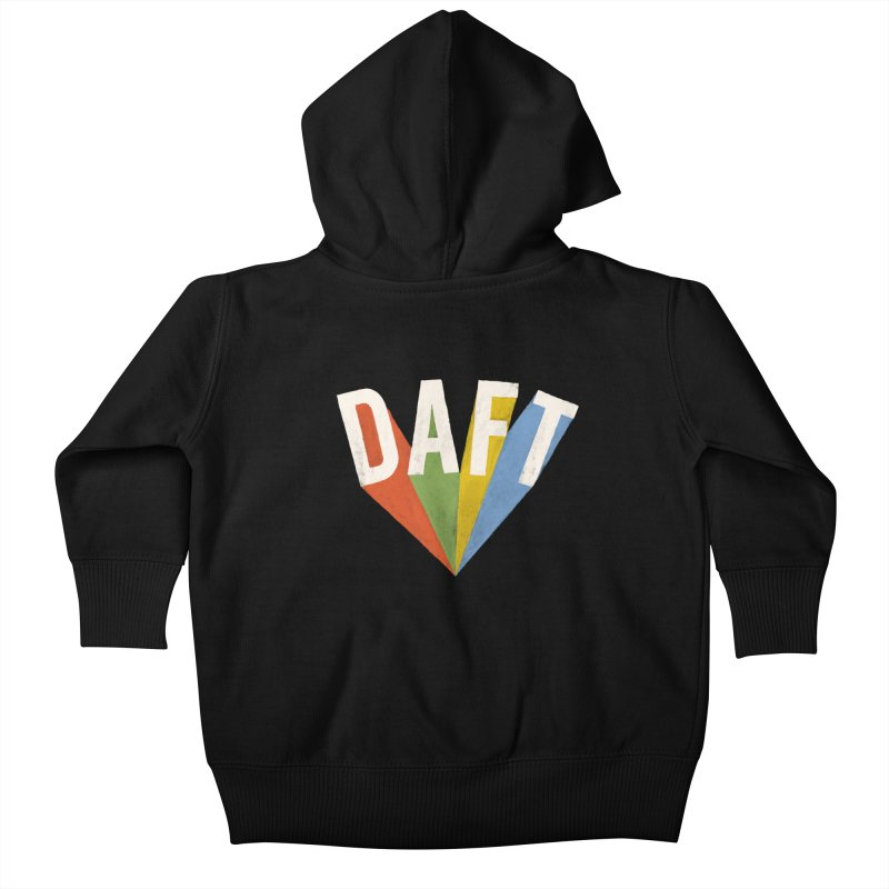 Daft Kids Baby Zip-Up Hoody by Speakerine / Florent Bodart