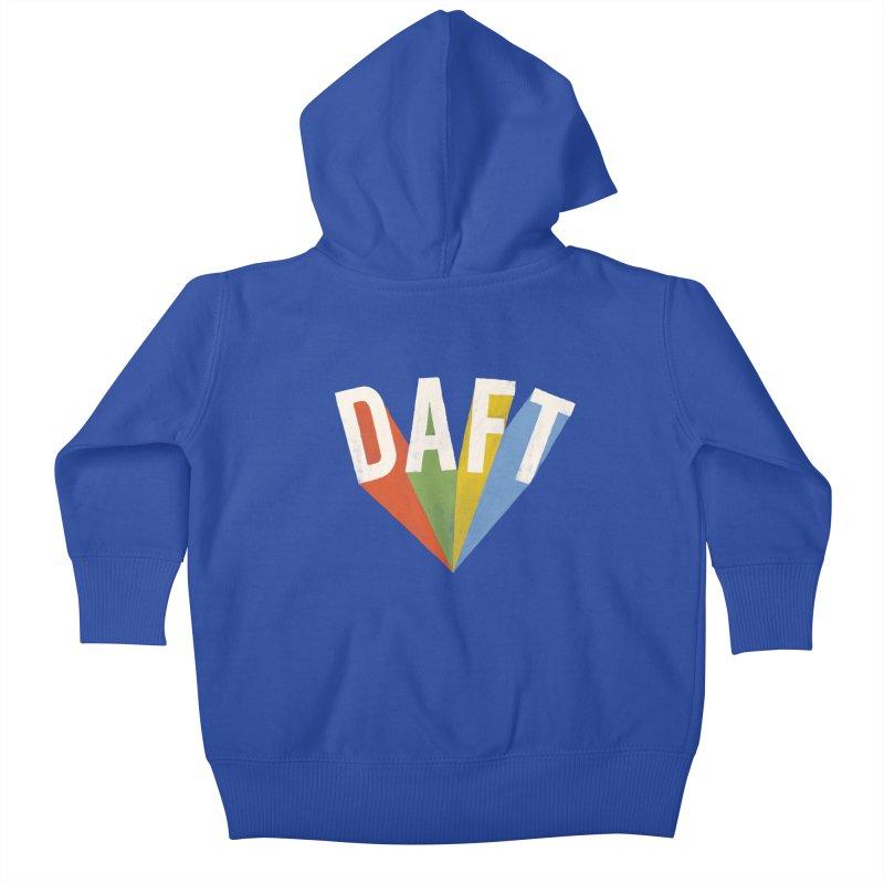 Daft Kids Baby Zip-Up Hoody by Speakerine / Florent Bodart