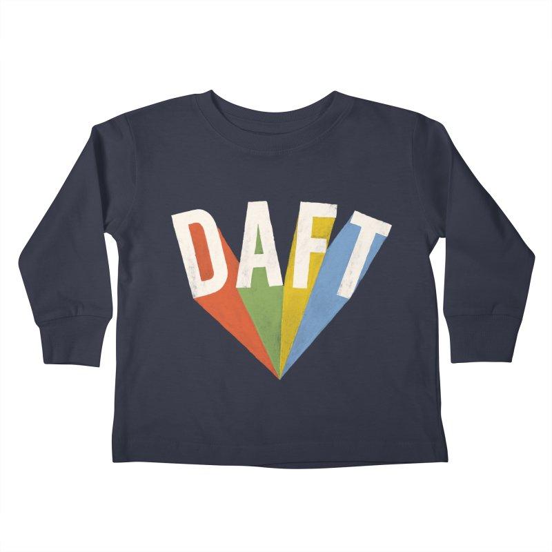 Daft Kids Toddler Longsleeve T-Shirt by Speakerine / Florent Bodart