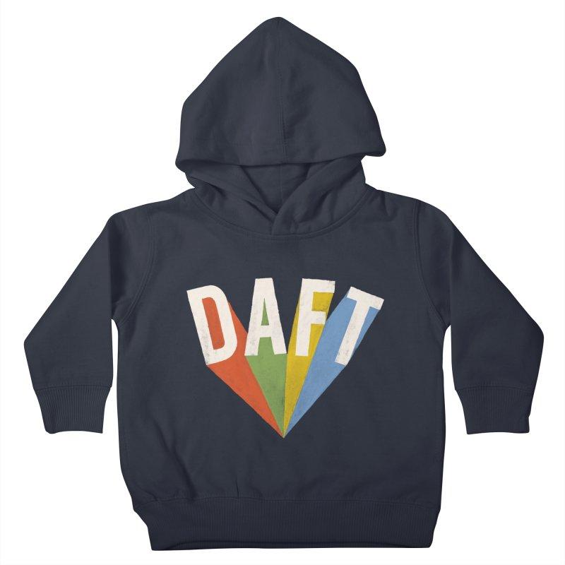 Daft Kids Toddler Pullover Hoody by Speakerine / Florent Bodart