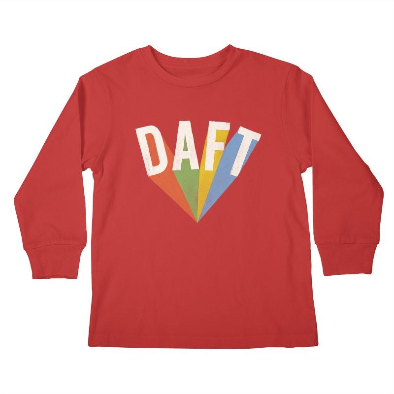 Daft Kids Longsleeve T-Shirt by Speakerine / Florent Bodart
