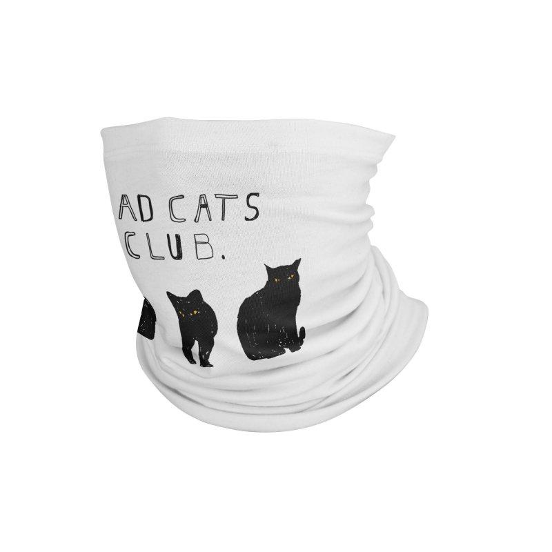 Bad Cats Club Accessories Neck Gaiter by Speakerine / Florent Bodart