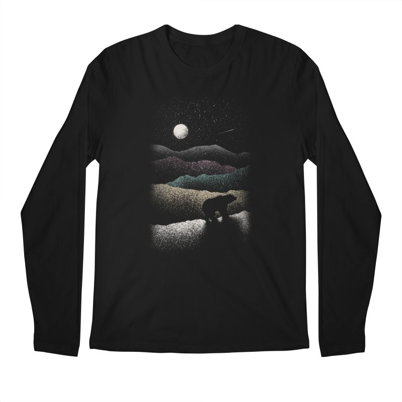 Wandering Bear Men's Longsleeve T-Shirt by Speakerine / Florent Bodart