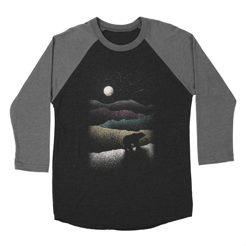 Wandering Bear Men's Longsleeve T-Shirt by Speakerine / Florent Bodart