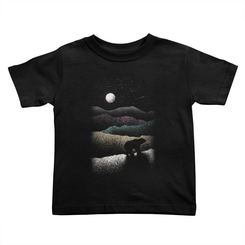 Wandering Bear Kids Toddler T-Shirt by Speakerine / Florent Bodart
