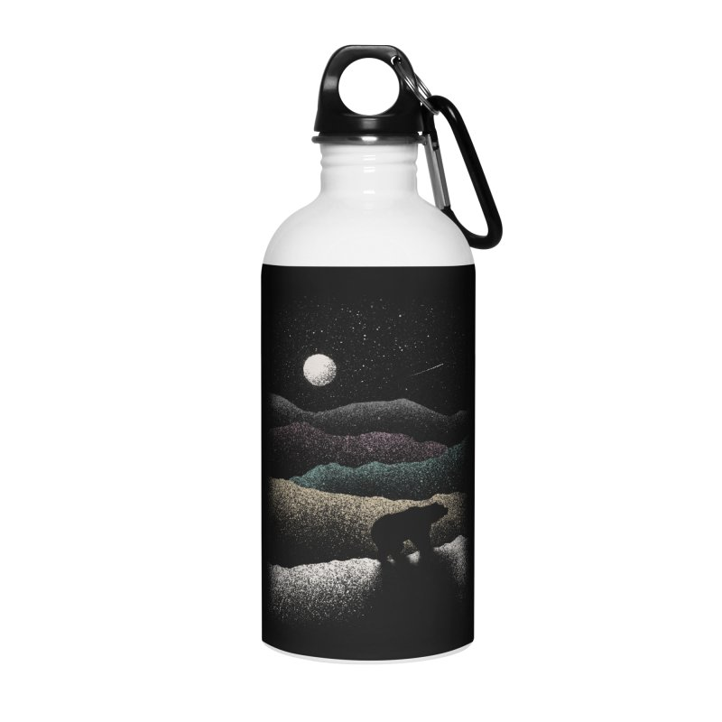 Wandering Bear Accessories Water Bottle by Speakerine / Florent Bodart