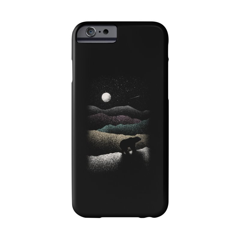 Wandering Bear Accessories Phone Case by Speakerine / Florent Bodart