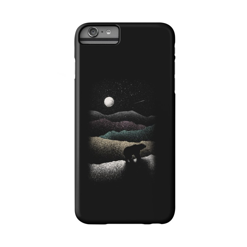 Wandering Bear Accessories Phone Case by Speakerine / Florent Bodart