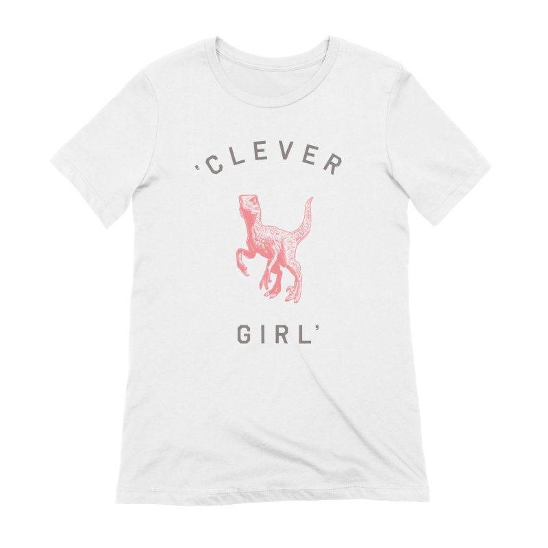 Clever GIrl Women's Extra Soft T-Shirt by Speakerine / Florent Bodart