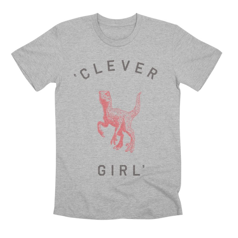Clever GIrl Men's Premium T-Shirt by Speakerine / Florent Bodart