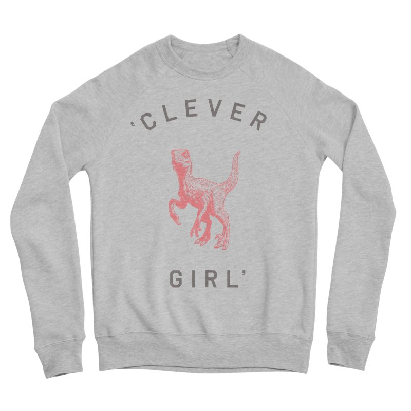 Clever GIrl Women's Sponge Fleece Sweatshirt by Speakerine / Florent Bodart