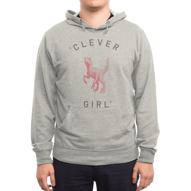 Clever GIrl Men's Pullover Hoody by Speakerine / Florent Bodart