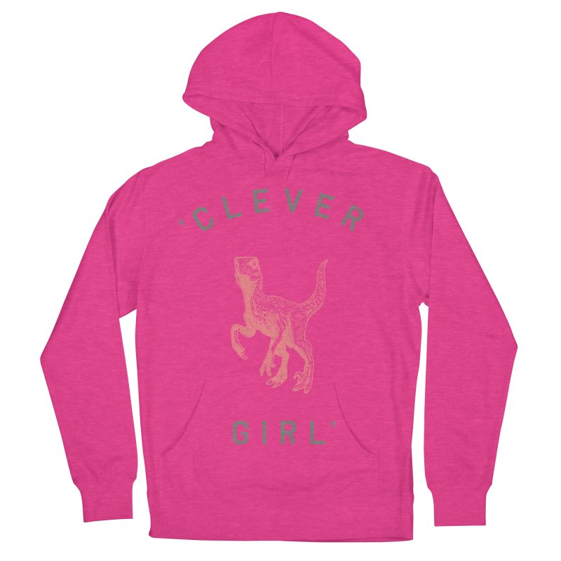 Clever GIrl Women's French Terry Pullover Hoody by Speakerine / Florent Bodart