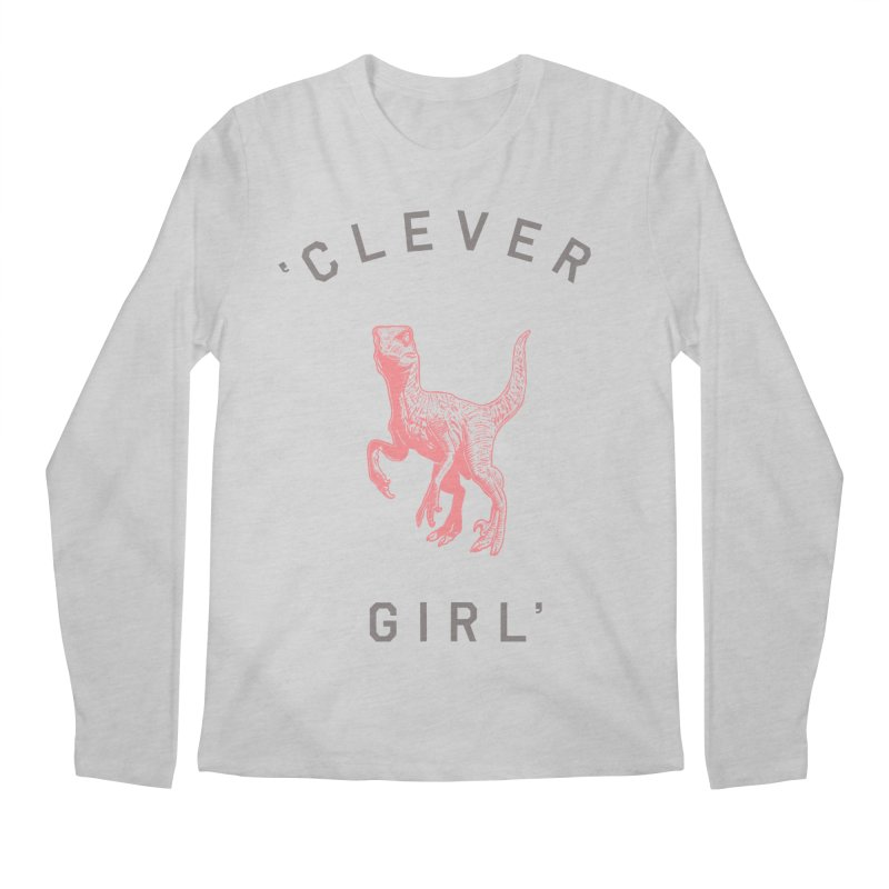 Clever GIrl Men's Longsleeve T-Shirt by Speakerine / Florent Bodart