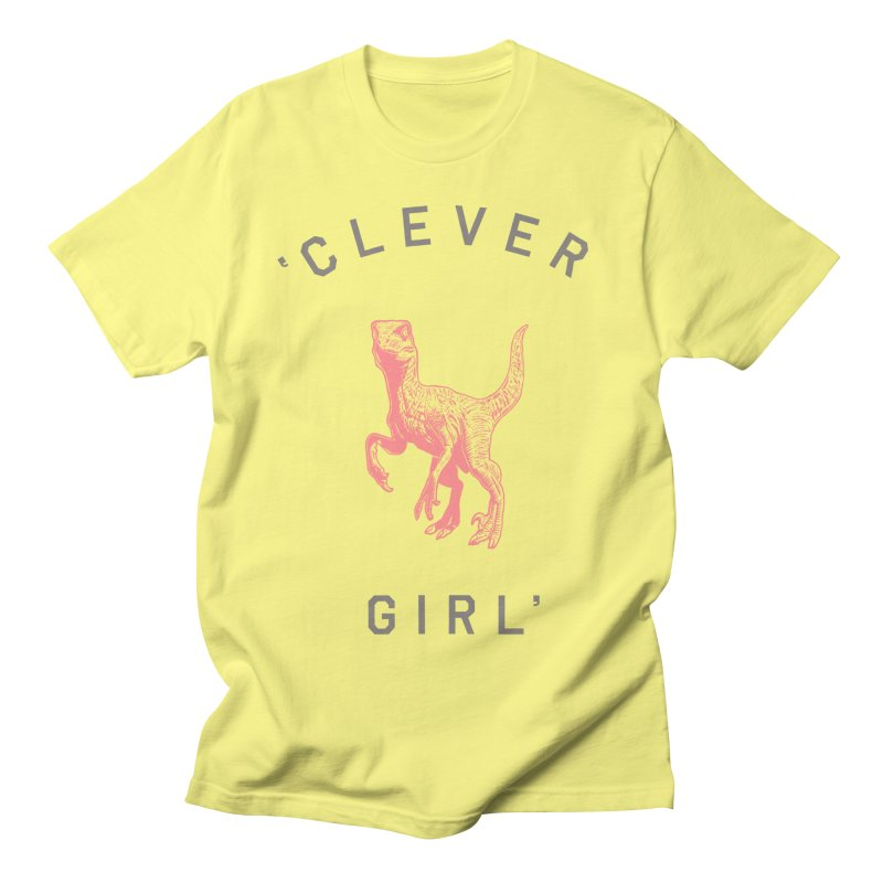 Clever GIrl Men's T-Shirt by Speakerine / Florent Bodart