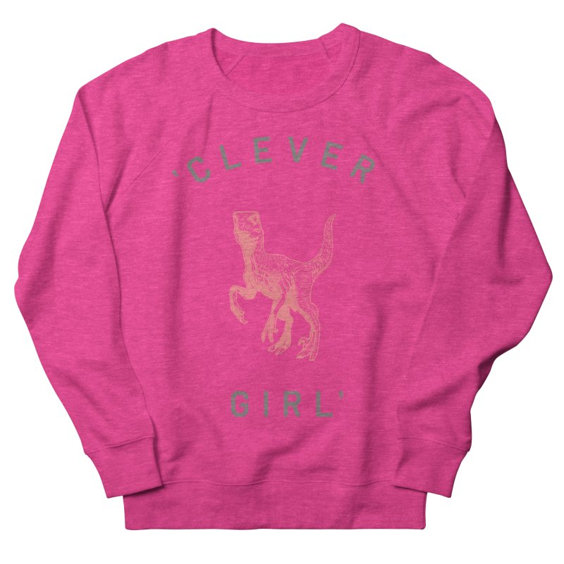 Clever GIrl Men's French Terry Sweatshirt by Speakerine / Florent Bodart