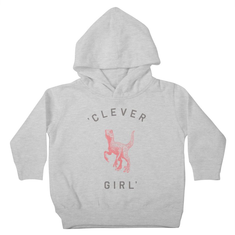 Clever GIrl Kids Toddler Pullover Hoody by Speakerine / Florent Bodart