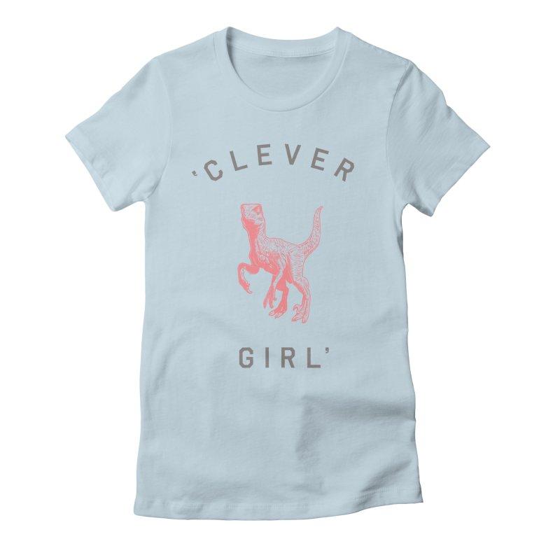Clever GIrl Women's Fitted T-Shirt by Speakerine / Florent Bodart