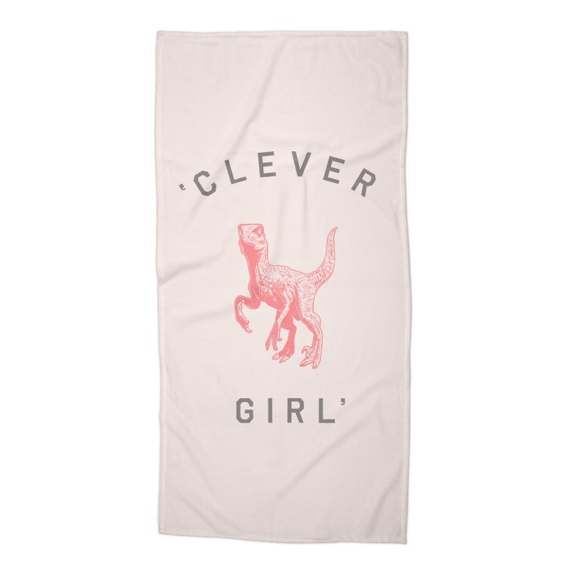 Clever GIrl Accessories Beach Towel by Speakerine / Florent Bodart
