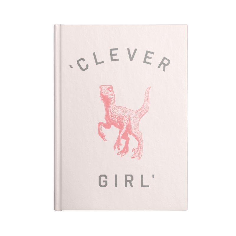 Clever GIrl Accessories Blank Journal Notebook by Speakerine / Florent Bodart