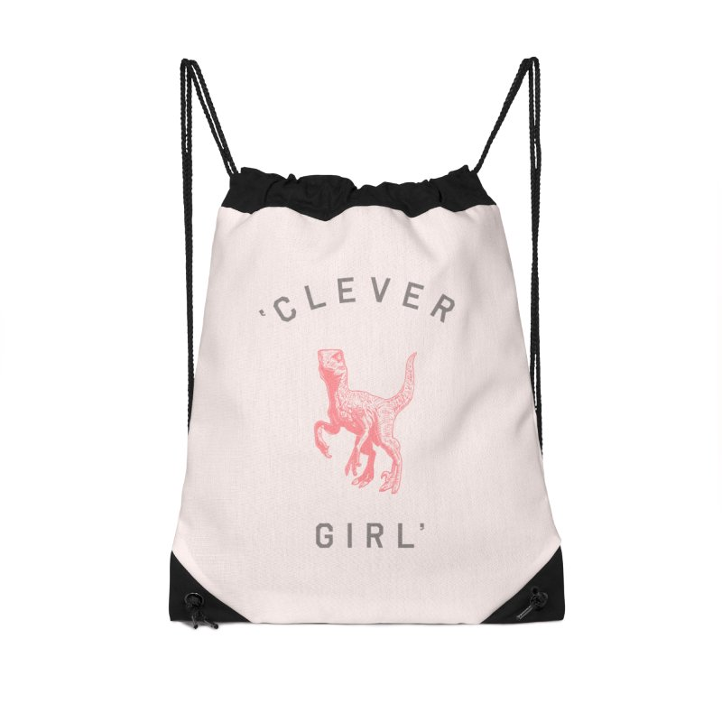 Clever GIrl Accessories Drawstring Bag Bag by Speakerine / Florent Bodart