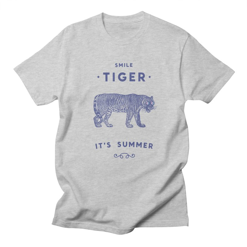 Smile Tiger Men's T-Shirt by Speakerine / Florent Bodart