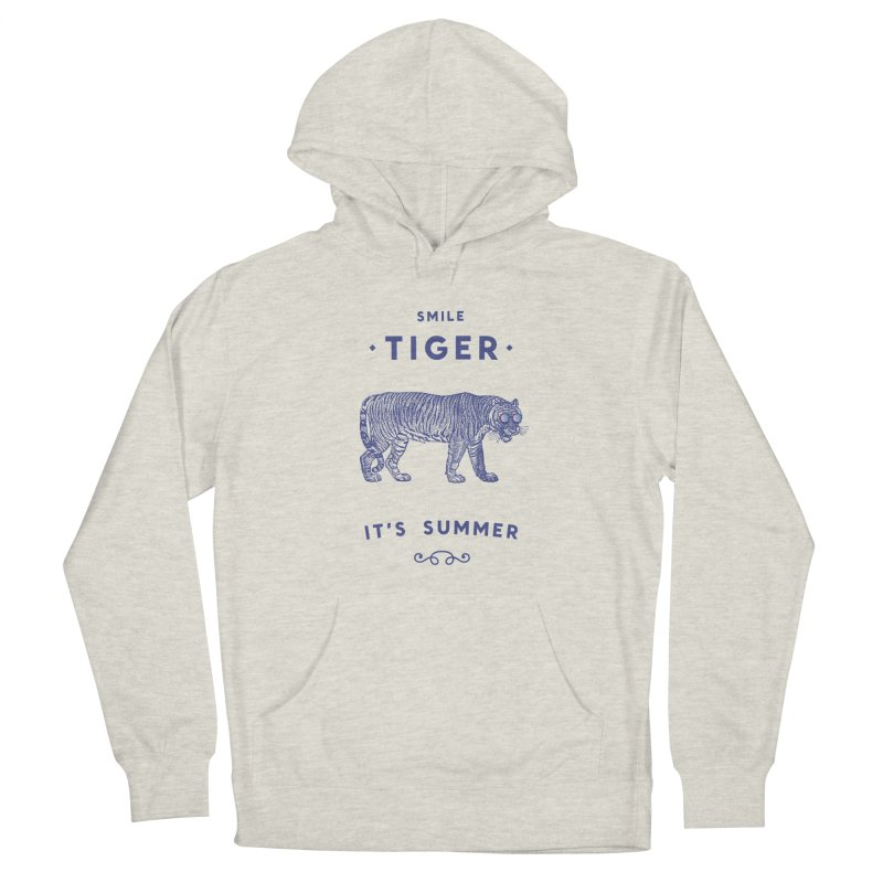 Smile Tiger Men's Pullover Hoody by Speakerine / Florent Bodart