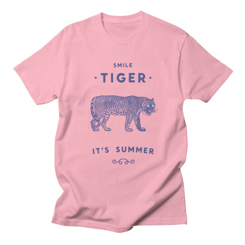 Smile Tiger Men's T-Shirt by Speakerine / Florent Bodart