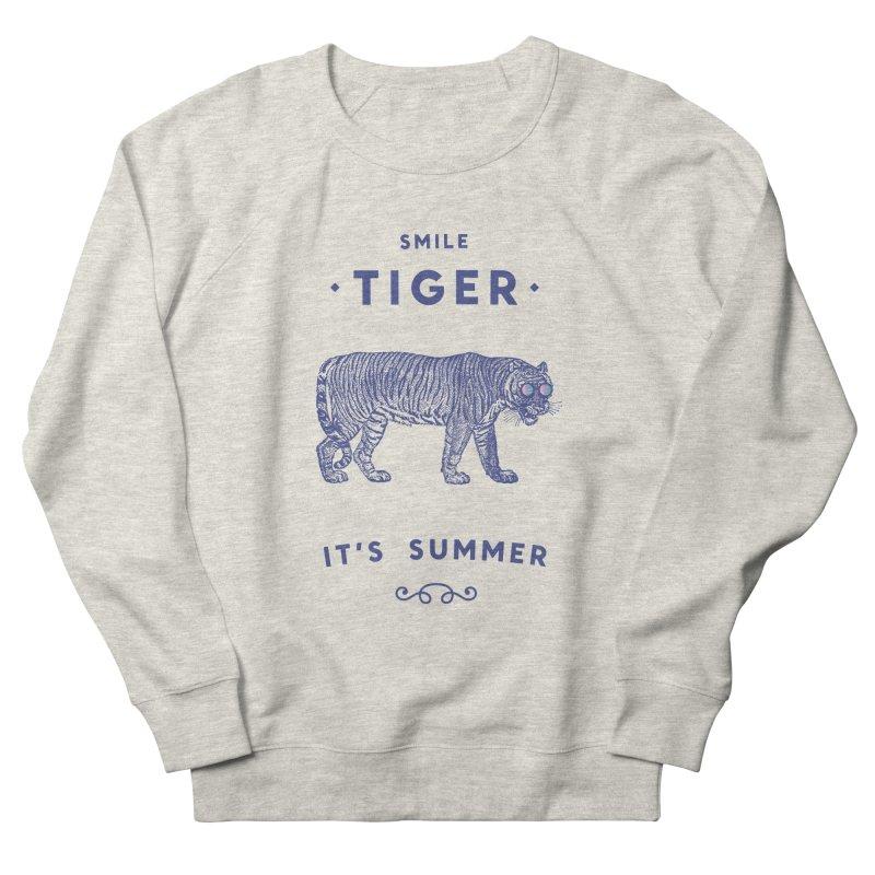 Smile Tiger Women's Sweatshirt by Speakerine / Florent Bodart