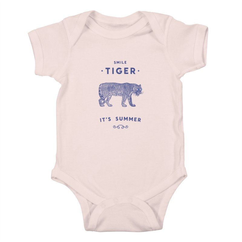 Smile Tiger Kids Baby Bodysuit by Speakerine / Florent Bodart