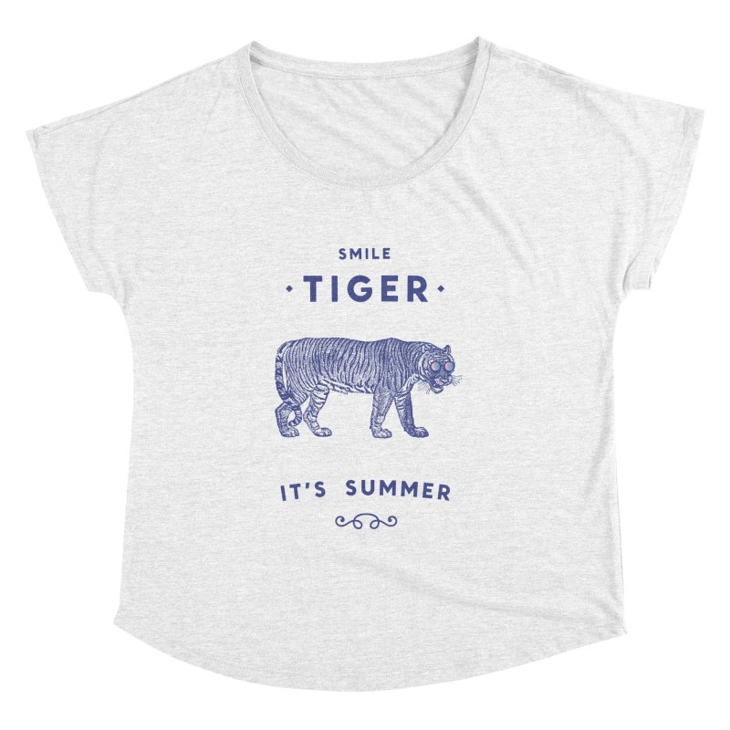 Smile Tiger Women's Dolman by Speakerine / Florent Bodart