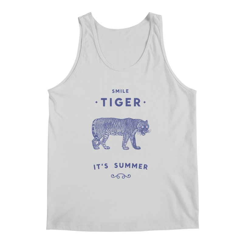 Smile Tiger Men's Regular Tank by Speakerine / Florent Bodart