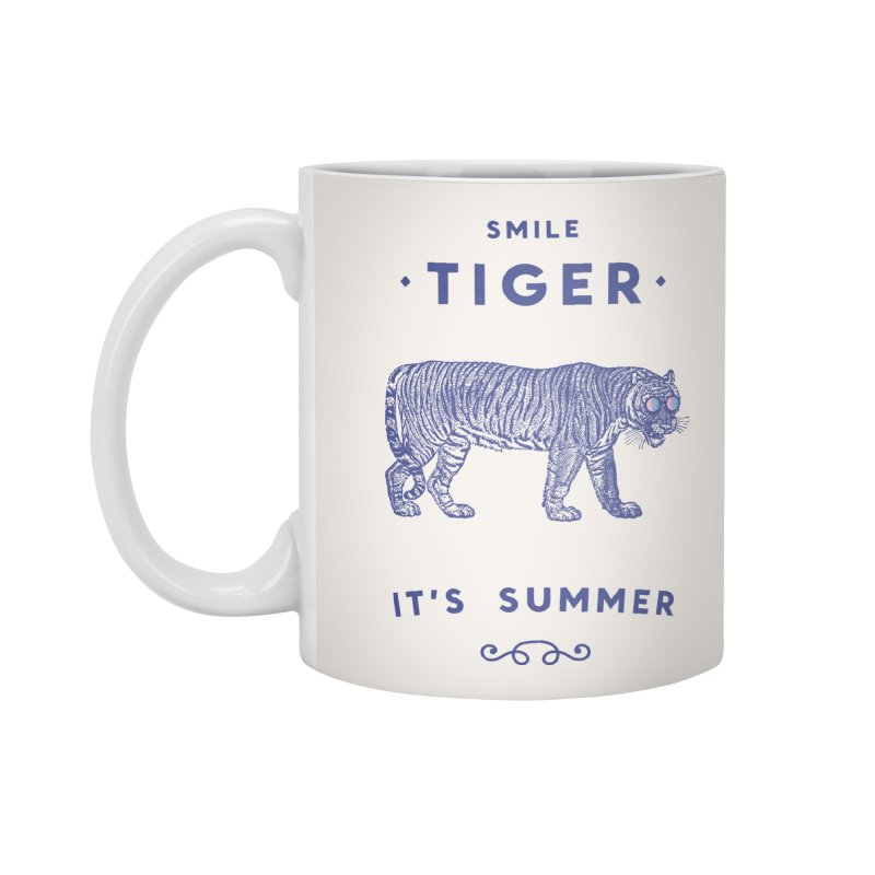 Smile Tiger Accessories Mug by Speakerine / Florent Bodart