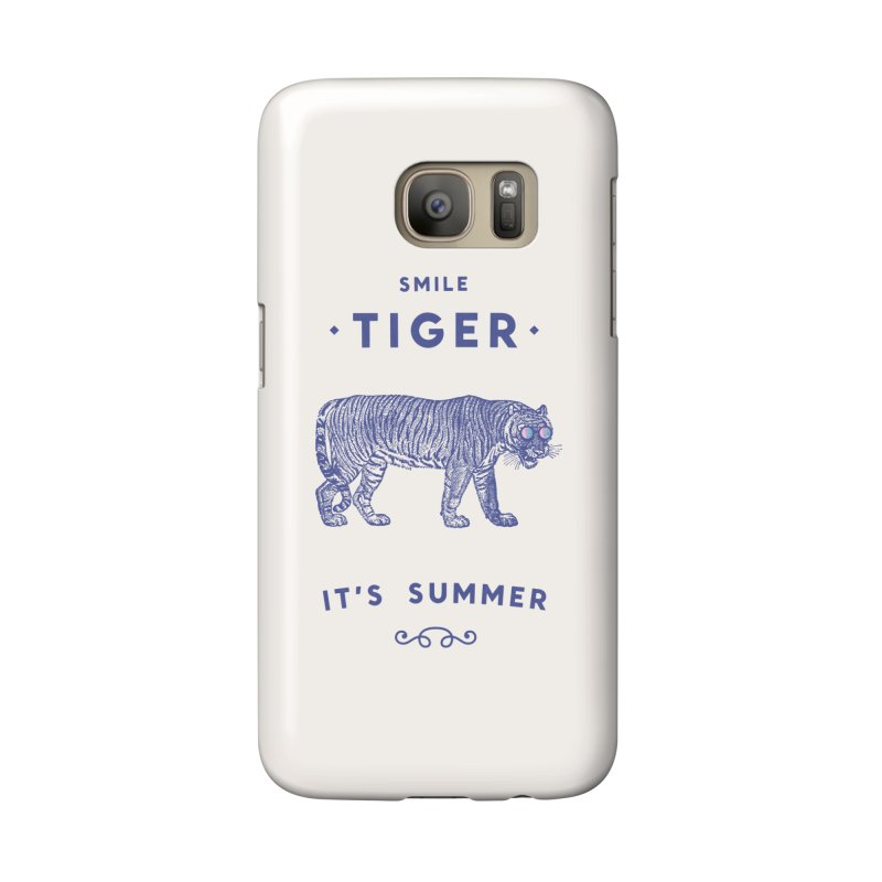 Smile Tiger Accessories Phone Case by Speakerine / Florent Bodart