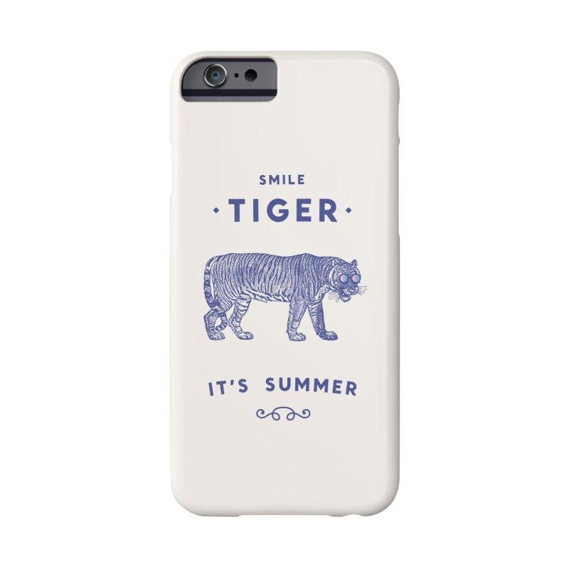 Smile Tiger Accessories Phone Case by Speakerine / Florent Bodart
