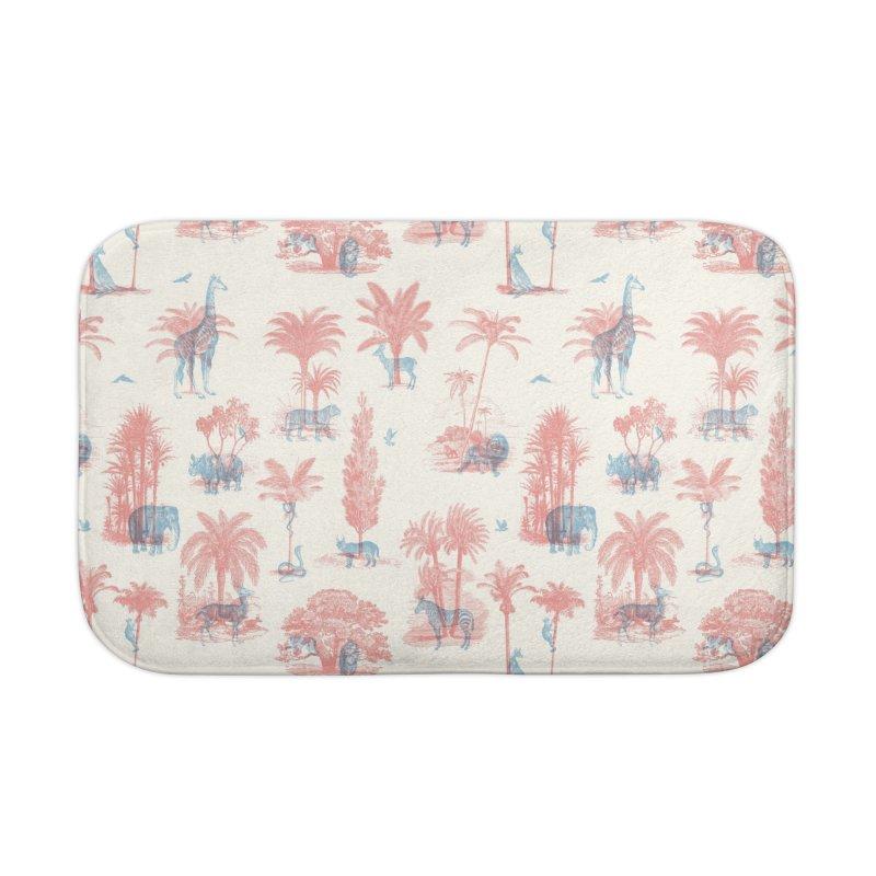Where they Belong - Summer Home Bath Mat by Speakerine / Florent Bodart