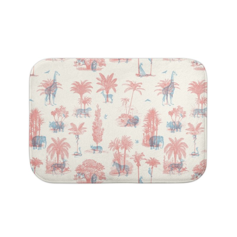 Where they Belong - Summer Home Bath Mat by Speakerine / Florent Bodart