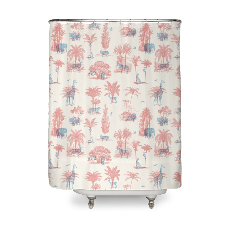 Where they Belong - Summer Home Shower Curtain by Speakerine / Florent Bodart