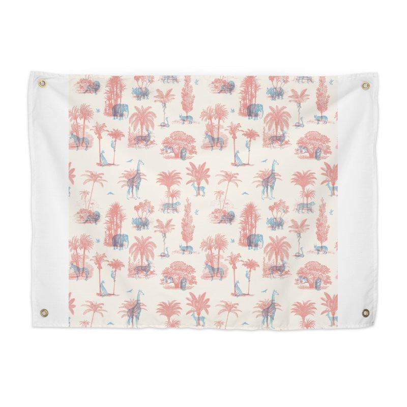 Where they Belong - Summer Home Tapestry by Speakerine / Florent Bodart