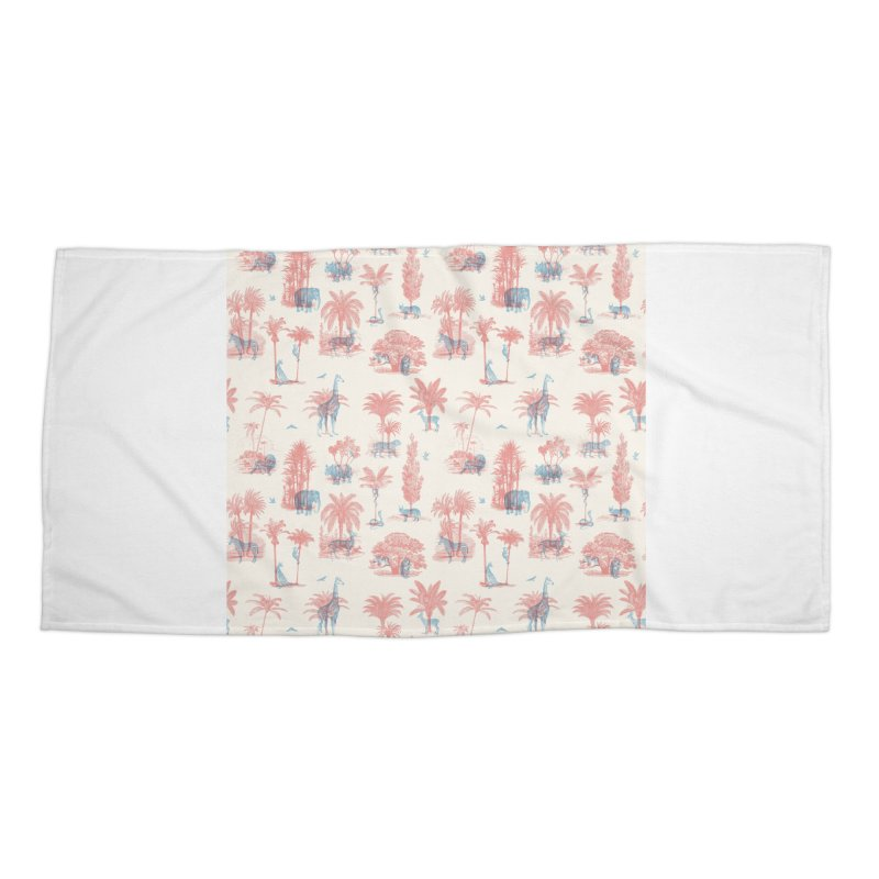 Where they Belong - Summer Accessories Beach Towel by Speakerine / Florent Bodart