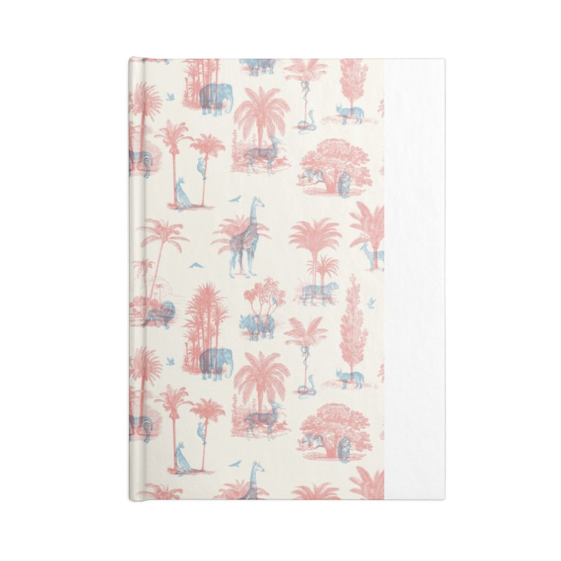 Where they Belong - Summer Accessories Blank Journal Notebook by Speakerine / Florent Bodart
