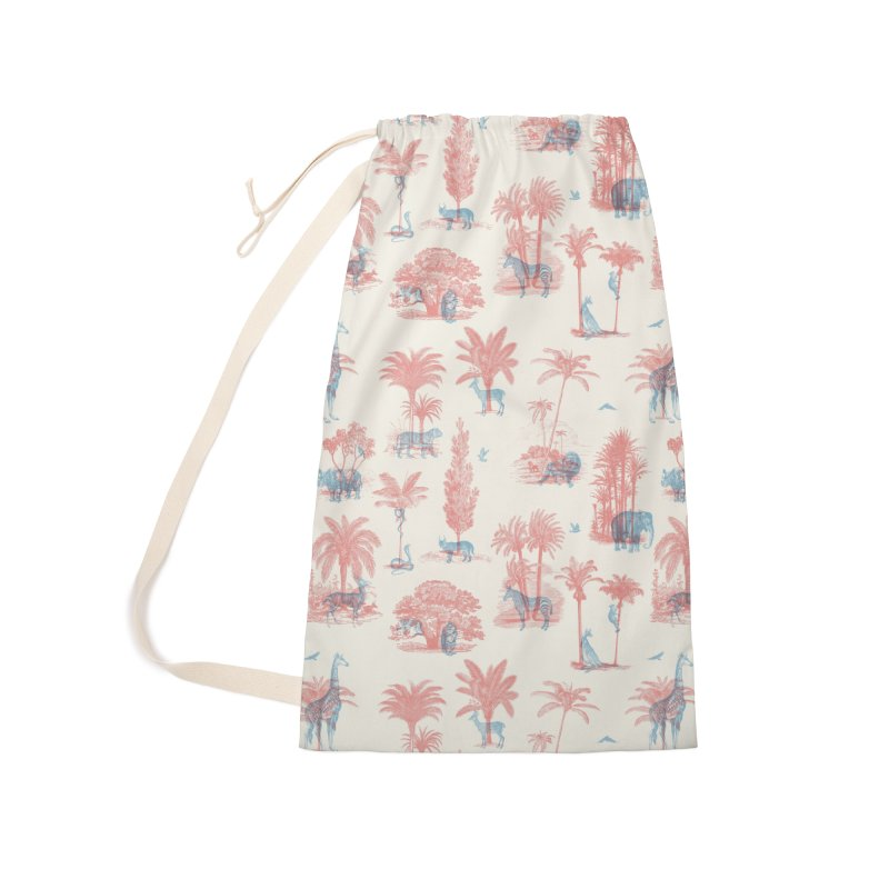Where they Belong - Summer Accessories Laundry Bag Bag by Speakerine / Florent Bodart