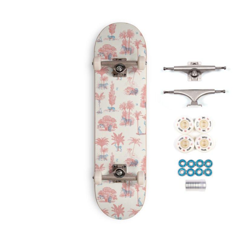 Where they Belong - Summer Accessories Skateboard by Speakerine / Florent Bodart