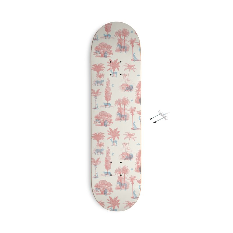 Where they Belong - Summer Accessories Skateboard by Speakerine / Florent Bodart