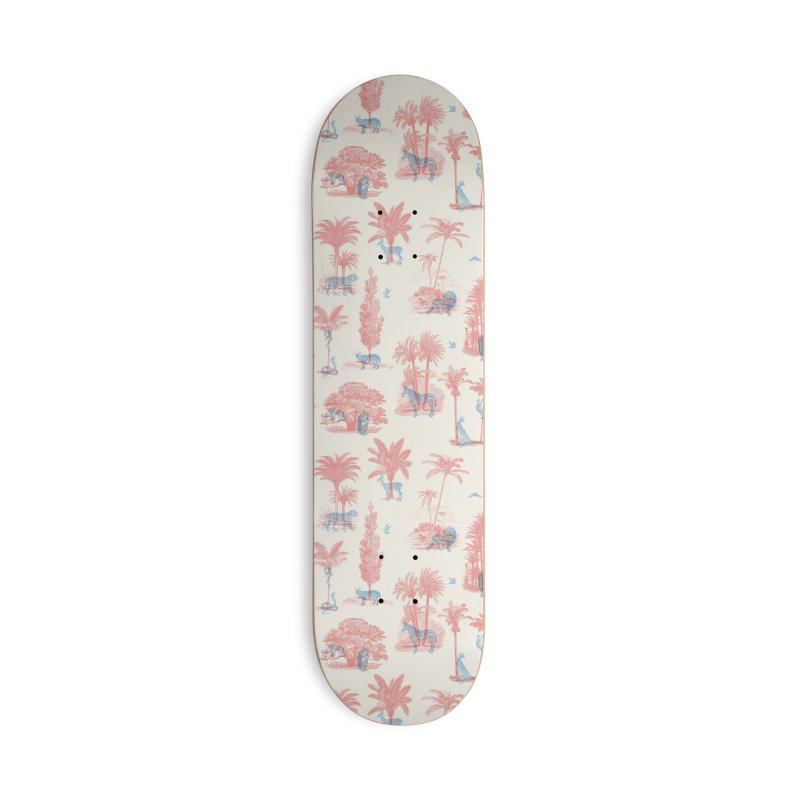 Where they Belong - Summer Accessories Deck Only Skateboard by Speakerine / Florent Bodart