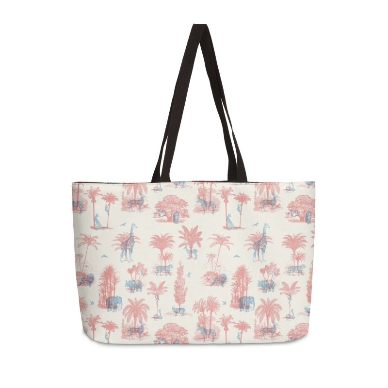 Where they Belong - Summer Accessories Weekender Bag Bag by Speakerine / Florent Bodart
